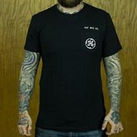 $30.00 HUF Watt Up T Shirt, Color: Black