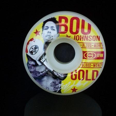 Gold Wheels Fight Boo Wheels White