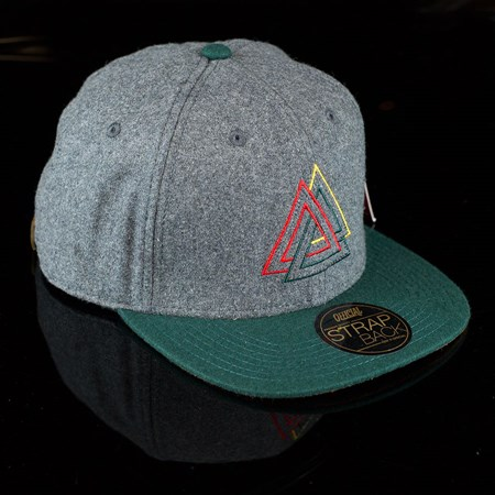 The Official Brand All Hail Strap Back Hat, Color: Green