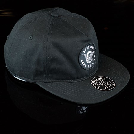 The Official Brand JT Eagle Snap Back Hat, Color: Black