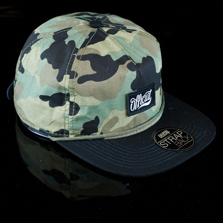 The Official Brand Unstructured Pequenos Strap Back Hat, Color: Camo