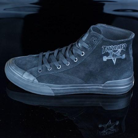 HUF HUF X Thrasher Classic Hi Shoes, Color: Black