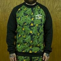 Primitive Delta Crew Neck Sweatshirt, Color: Green