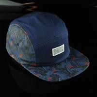 $35.00 Primitive Delta Five Panel Hat, Color: Navy