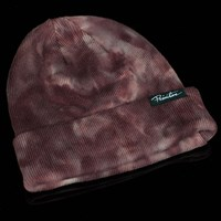 $25.00 Primitive Smoke Beanie, Color: Red Marble