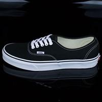 $45.00 Vans Authentic Shoes, Color: Black, White