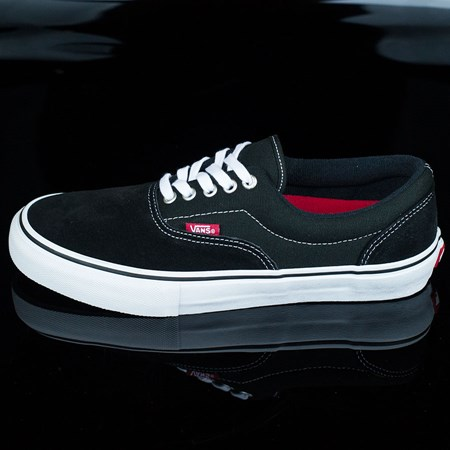 Size 11.5 in Vans Era Pro Shoes, Color: Black, White, Red