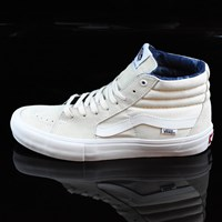 $70.00 Vans Sk8-Hi Pro Shoes, Color: White, Acid Wash, White