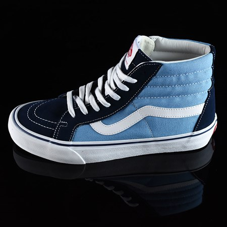 Size 10.5 in Vans Sk8-Hi Pro Shoes, Color: '86 Navy Two Tone