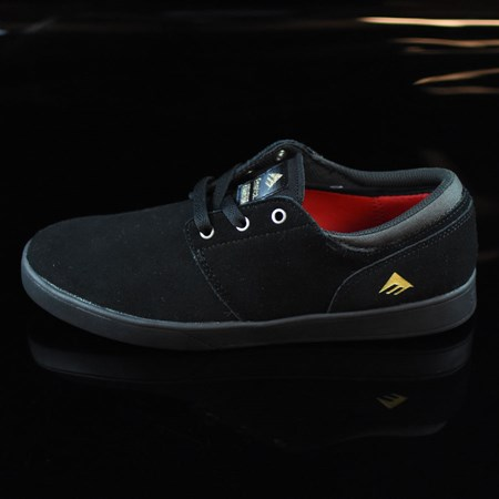 Size 7.5 in Emerica The Figueroa Shoes, Color: Black, Black