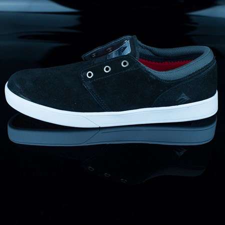 Size 10.5 in Emerica The Figueroa Shoes, Color: Black, White, White
