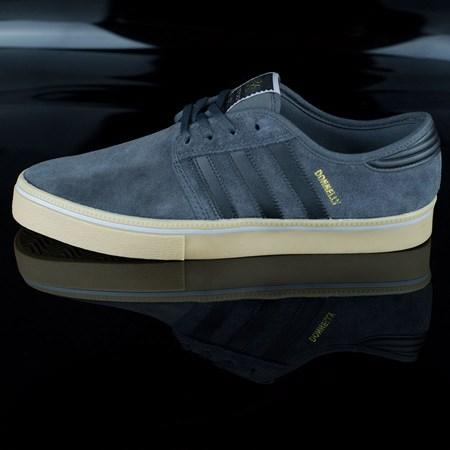 Size 8 in adidas Seeley ADV Shoes, Color: Dark Grey, Black, Gum