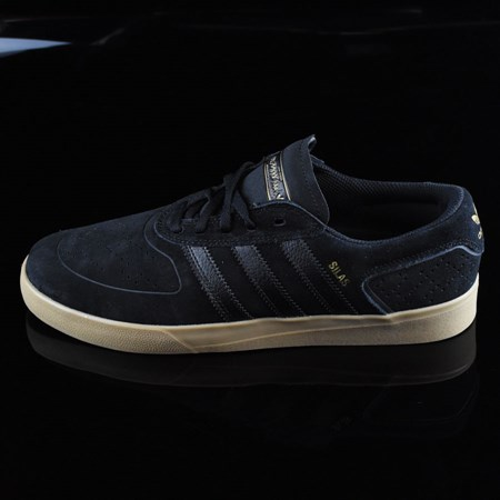 Size 11 in adidas Silas Vulc ADV Shoes, Color: Black, Black, Gum