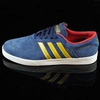 $68.00 adidas Silas Vulc ADV Shoes, Color: Navy, Gold