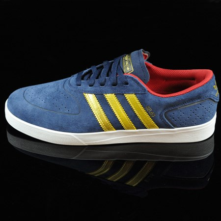 adidas Silas Vulc ADV Shoes Navy, Gold