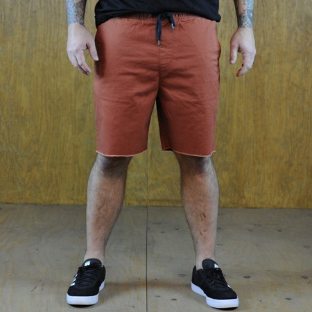 Size Extra Large in Brixton Madrid Shorts, Color: Burnt Orange