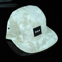 $38.00 HUF Crystal Wash Volley Hat, Color: Light Grey