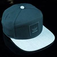 $24.00 adidas Originals AS Ticket Snap Back Hat, Color: Black, Core Heather
