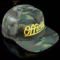 $30.00 The Official Brand The Hunter Snap Back Hat, Color: Camo