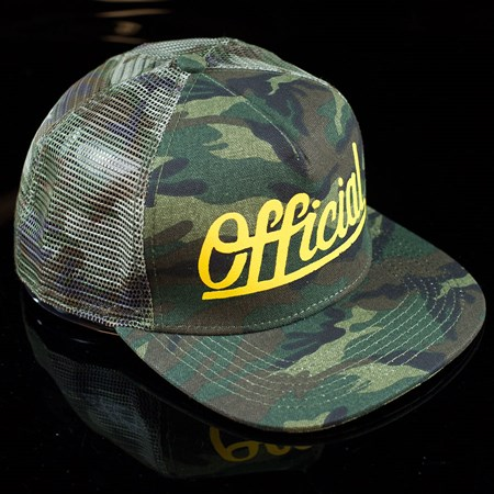 The Official Brand The Hunter Snap Back Hat Camo
