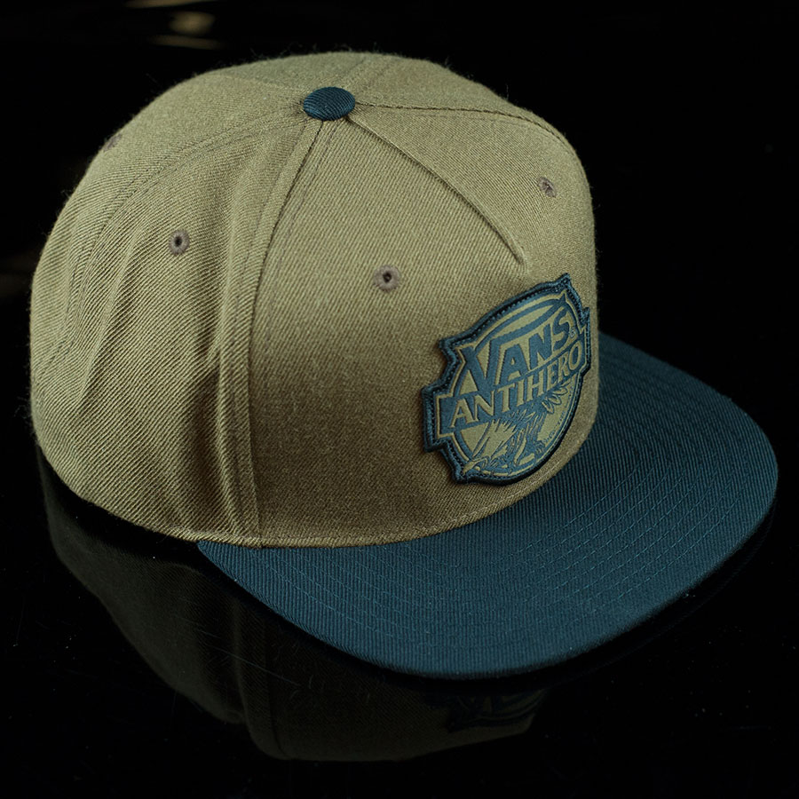 Vans X Anti Hero Snap Back Hat Brown In Stock at The Boardr 8b0963564bba