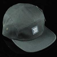 $32.00 Herschel Glendale 5 Panel Strap Back Hat, Color: Black