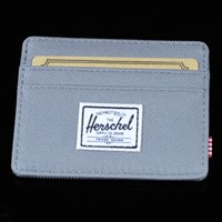 $18.00 Herschel Charlie Credit Card Wallet, Color: Grey