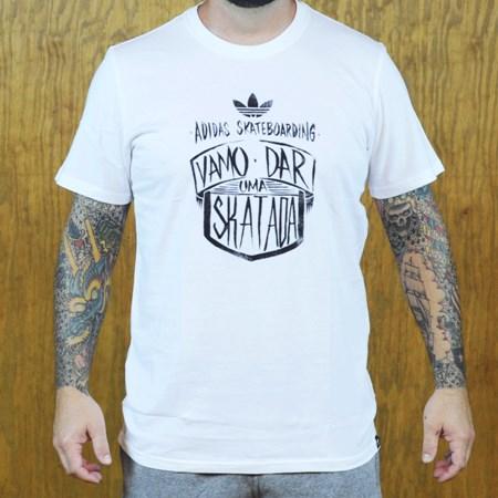 adidas Vamo T Shirt White