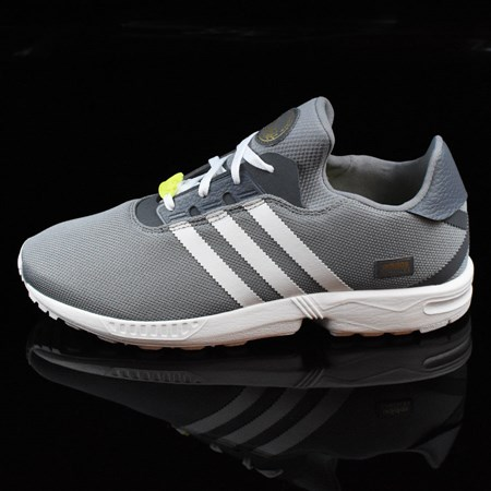 Size 8.5 in adidas ZX Gonz Shoes, Color: Grey, White
