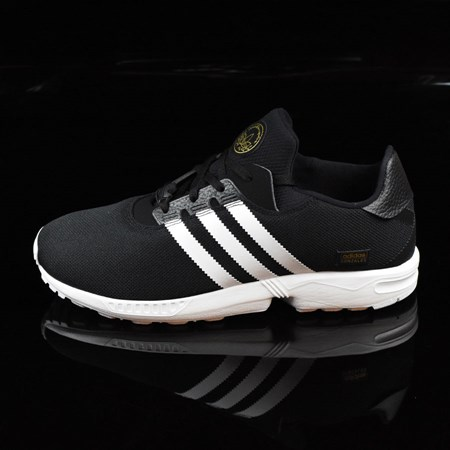 Size 8.5 in adidas ZX Gonz Shoes, Color: Black, White