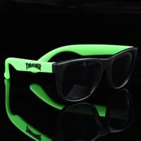 $7.00 Thrasher Thrasher Sunglasses, Color: Black, Green