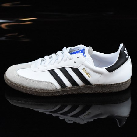 adidas Samba Shoes White, Black, Gum