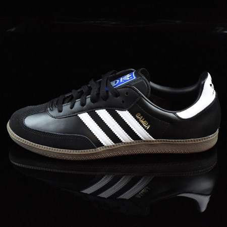 Size 11 in adidas Samba Shoes, Color: Black, White, Gum