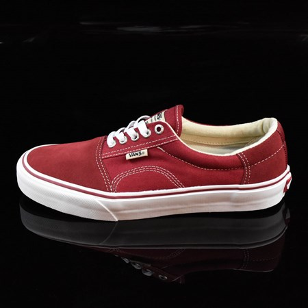 Size 11 in Vans Rowley Solos Shoes, Color: Biking Red, White