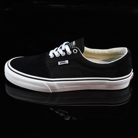 Size 11.5 in Vans Rowley Solos Shoes, Color: Black, White