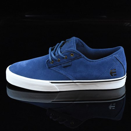 Size 10.5 in etnies Jameson Vulc Shoes, Color: Blue, White