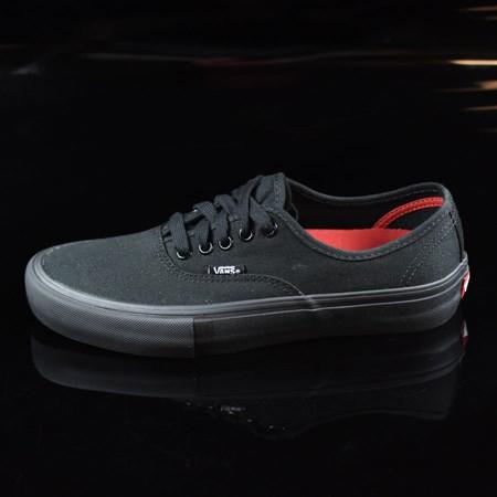 Size 7.5 in Vans Authentic Pro Shoes, Color: Black, Black