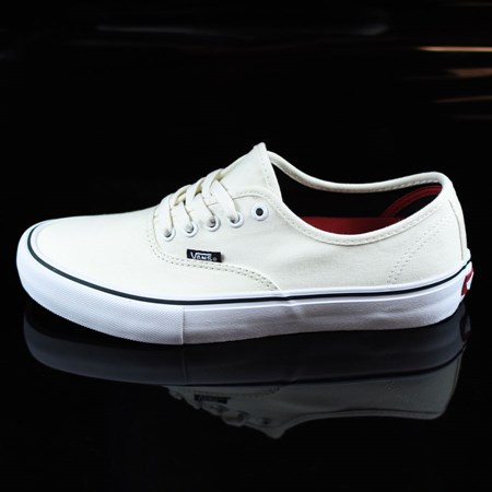Size 10.5 in Vans Authentic Pro Shoes, Color: White, White