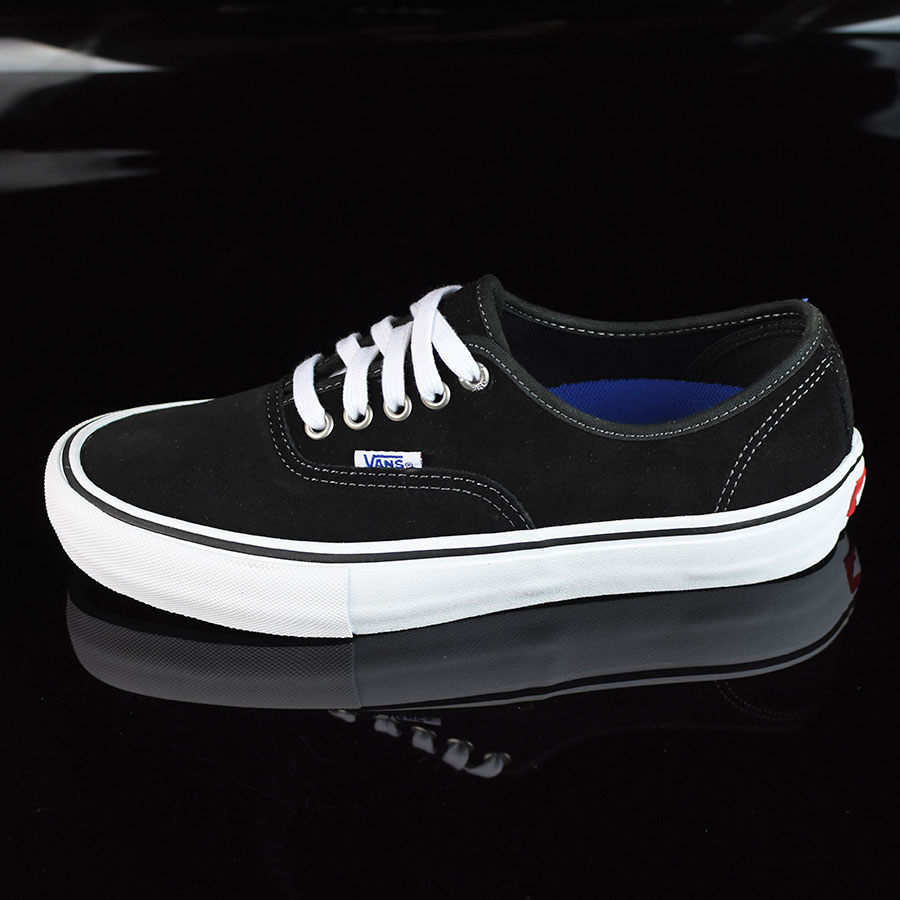 Authentic Pro Shoes Black Suede White In Stock At The Boardr