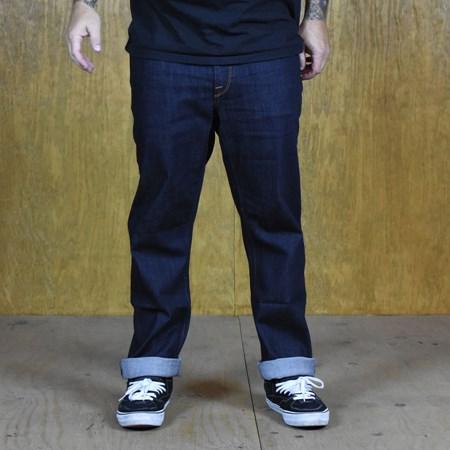 Size 34 X 32 in Volcom Solver Denim Jeans, Color: Rinse