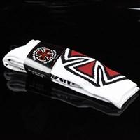 $16.00 Independent Shinner Tall Socks 2-Pack, Color: White