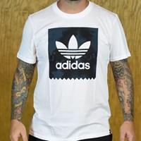 $28.00 adidas D2D Fill T Shirt, Color: White