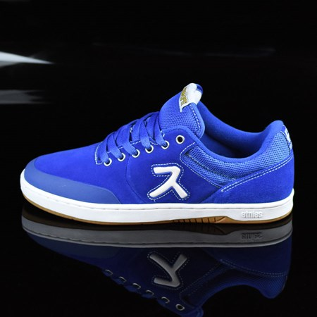 Size 8.5 in etnies Marana X Hook-Ups Shoes, Color: Royal