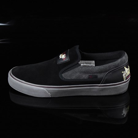 Size 10 in DC Shoes Trace Slip-On Cliver Shoes, Color: Black