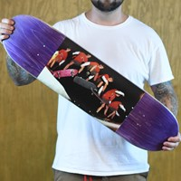 $55.00 JK Industries Kickflip Grab Deck, Color: Purple