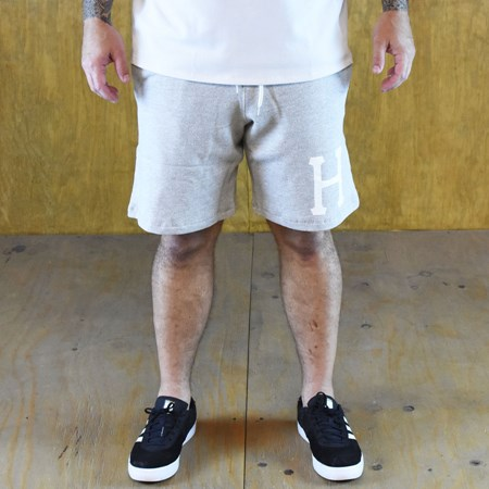 Size Small in HUF PT Fleece Shorts, Color: Heather Grey