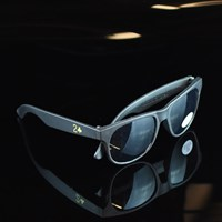 $8.00 Lowcard Magazine Stay Lame Sunglasses, Color: Black, Yellow