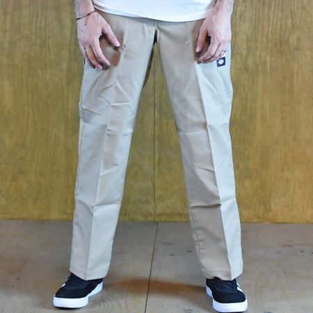 Size 36 X 32 in Dickies 67 Collection Regular Straight Work Pants, Color: Khaki