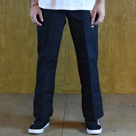 Size 36 X 32 in Dickies 67 Collection Regular Straight Work Pants, Color: Black