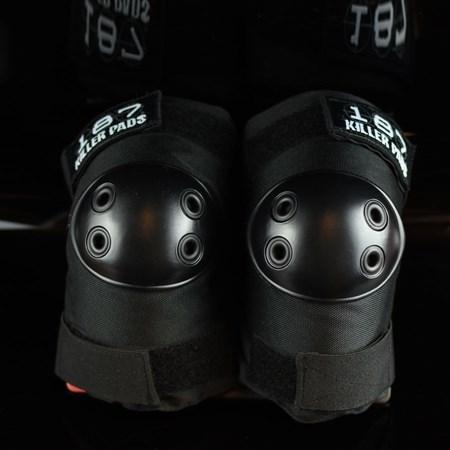187 Killer Pads Standard Elbow Pads Black, Black